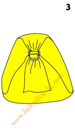 Слагане на слинг с халки, стъпка 3