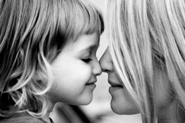 дъщеря, общуване с детето
