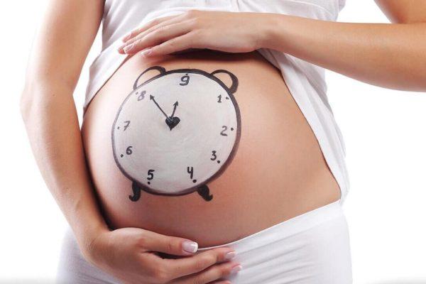 Девети месец на бременността