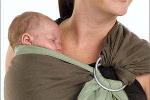 Слинг, Babysling, слинг за носене на бебе, правила при носене в слинг, слагане на слинг, носене на новородено в слинг, слинг за новородено