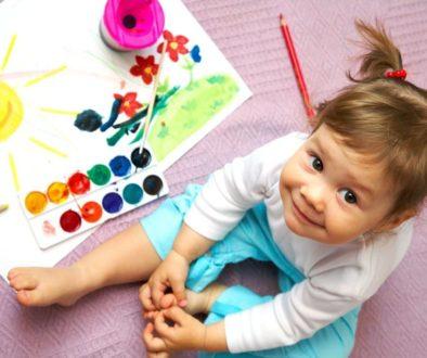 Възпитание, значението на първите пет години.. Дете рисува, чувство за хумор