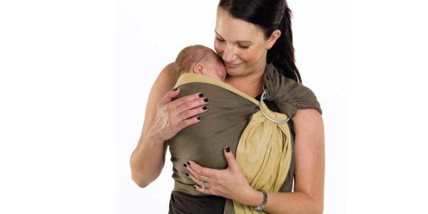 Прегрътка. Слинг - предимства за майката и бебето