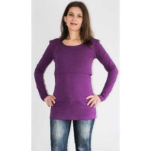 Блуза за кърмене от 2 части