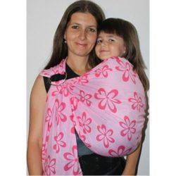 Розово вълшебство слинг с халки