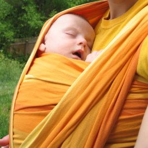 Тъкан слинг-шал