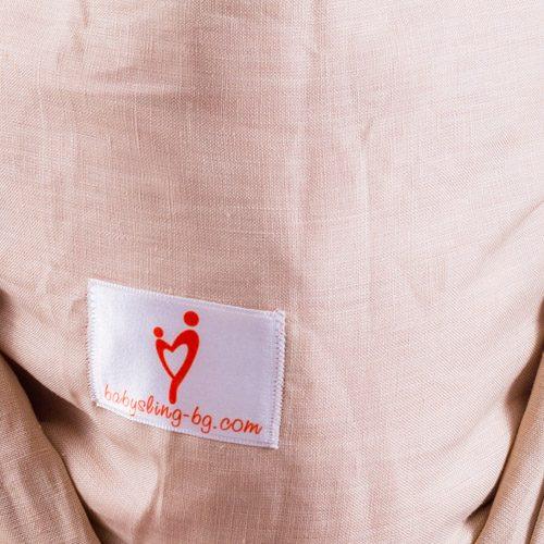 Еко тъкан слинг шал