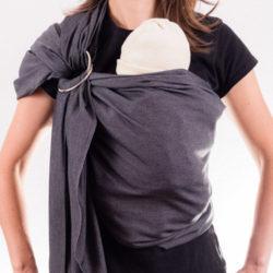 Сити слинг с халки за носене на бебе
