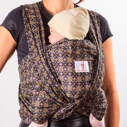 Лейла 1 тъкан слинг шал