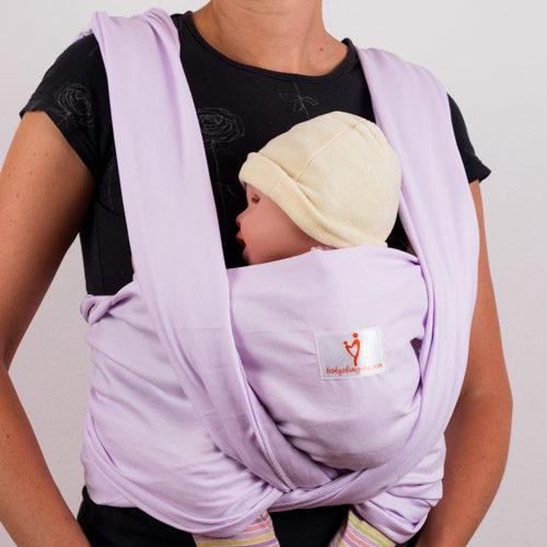 Люляк тъкан слинг-шал
