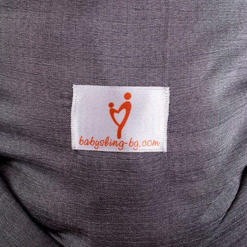 Графит тъкан слинг шал