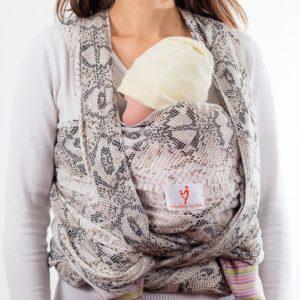 Стил тъкан слинг шал