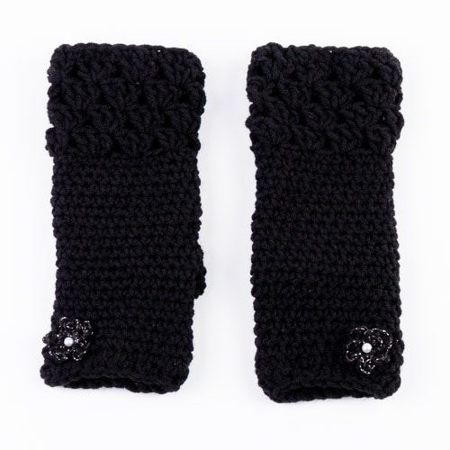 Ръкавици Лейди - черни