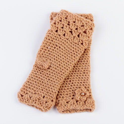 Ръкавици Лейди - бежови
