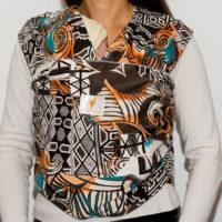 Африка - къс слинг шал