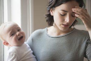 Тревожна майка, неспокойно бебе